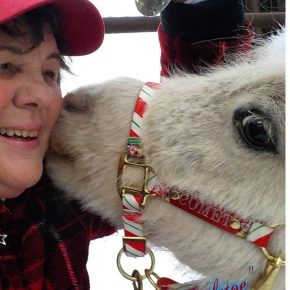 LOIS YORK & LIL ROCK PONY KISSES